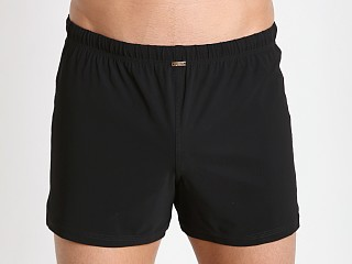 JM Waves Classic Loose Lycra Swim Trunk Black
