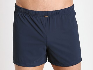 JM Waves Classic Loose Lycra Swim Trunk Indigo Blue