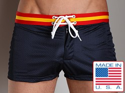 LASC Varsity Mesh Swim Trunks Navy