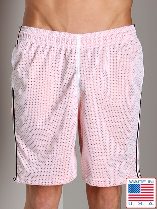 LASC Athletic Mesh Workout Short White