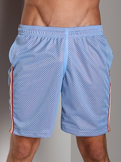 LASC Athletic Mesh Workout Short Sky