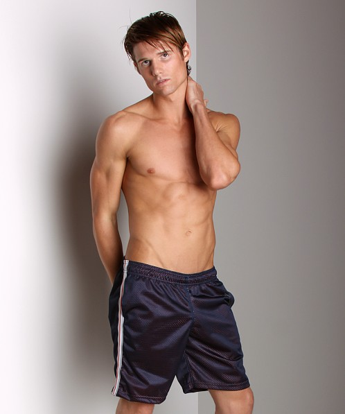 LASC Athletic Mesh Workout Short Navy
