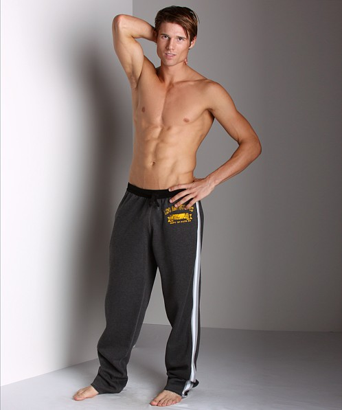 LASC Fleece Pants Charcoal