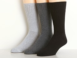 Calvin Klein Casual Rib Socks 3-Pack Assorted Colors Denim