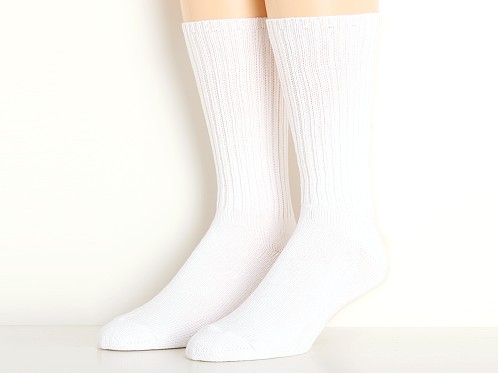 Calvin Klein Casual Rib Socks 3-Pack White
