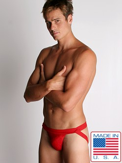 ActiveMan Swimmer Jockstrap Red