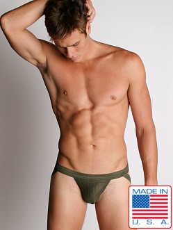 ActiveMan Swimmer Jockstrap Army Green