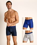 "Under Armour Tech 6"" Boxerjock 3-Pack Academy/Mod Gray/Royal, view 1"