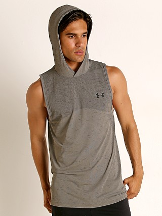 Under Armour Seamless Sleeveless Hoodie Gravity Green