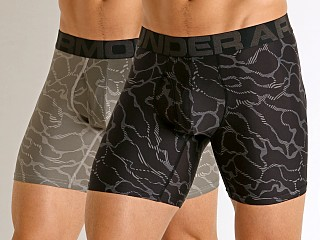"You may also like: Under Armour Tech Mesh Front 6"" Boxerjock 2-Pack Black/Gravity"