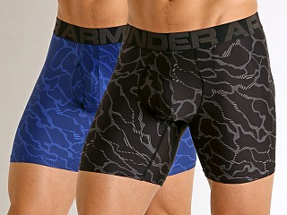 "You may also like: Under Armour Tech Mesh Front 6"" Boxerjock 2-Pack Black/American"