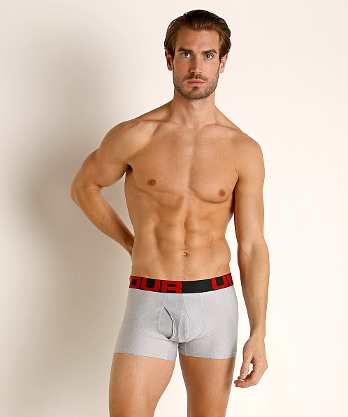 "Under Armour Tech Mesh Front 3"" Boxerjock 2-Pack Greys"