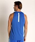 Under Armour Baseline Cotton Tank Top Versa Blue, view 4