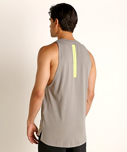 Under Armour Baseline Cotton Tank Top Gravity Green