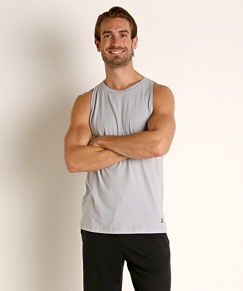 Under Armour Baseline Cotton Tank Top Mod Gray