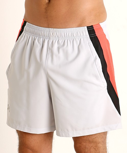 Under Armour Launch 5'' Running Short Halo Gray/Reflective