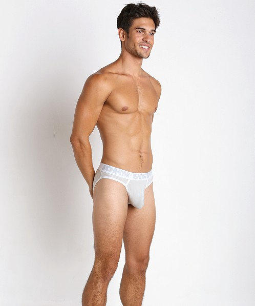 John Sievers Cotton Natural Pouch Brief Vintage Grey