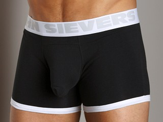 John Sievers Cotton Natural Pouch Boxer Brief Black