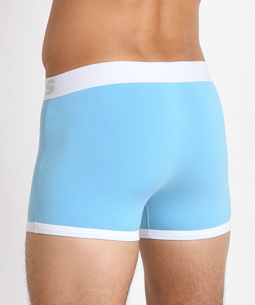John Sievers Cotton Natural Pouch Boxer Brief Grotto Blue
