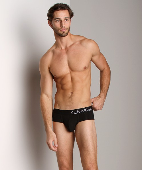 Calvin Klein Bold Cotton Low Rise Flex Brief Black