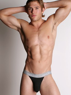 Obviously Anatomical Pouch Jockstrap Black