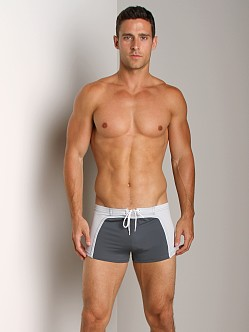 Sauvage Surfer Square Cut Grey