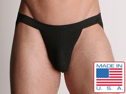 ActiveMan 3-Way Swimmer Jockstrap Black