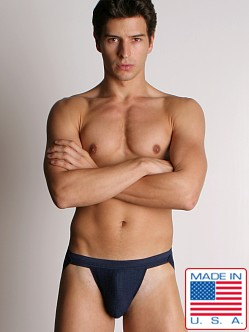 ActiveMan 3-Way Swimmer Jockstrap Navy