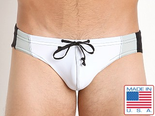 N2N Bodywear University Swim Brief White