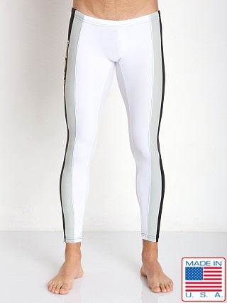 N2N Bodywear University Runner Tights White