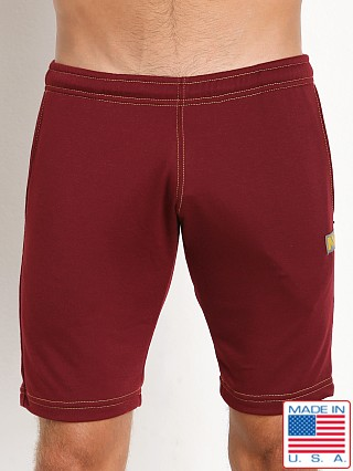 N2N Bodywear Basic Gym Short Maroon