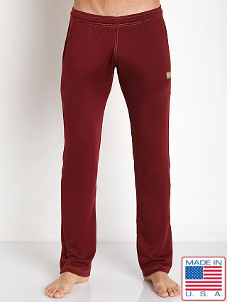 N2N Bodywear Basic Gym Sweatpant Maroon