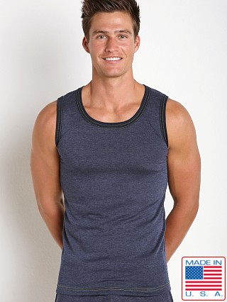 N2N Bodywear Basic Gym Tank Navy