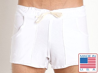 N2N Bodywear Beach Bum Short White