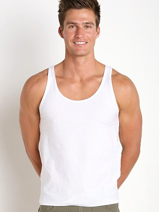 Complete the look: N2N Bodywear Beach Bum Tank White