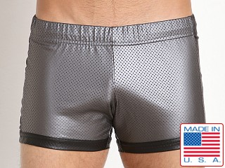 N2N Bodywear Mercury Sport Short Gun Metal