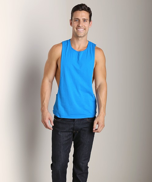 LASC Deep Cut Out Tee Turquoise Tropic