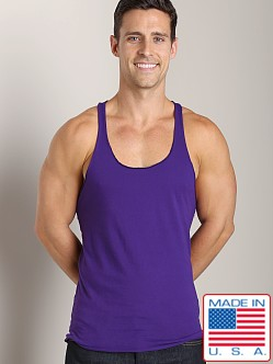 LASC String Tank Top Purple Passion