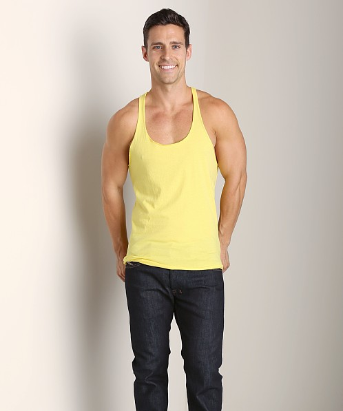 LASC String Tank Top Yellow Slicker
