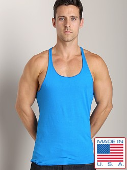 LASC String Tank Top Turquoise Tropic