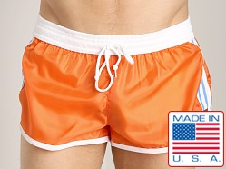 LASC Nylon/Cotton Soccer Short Orange