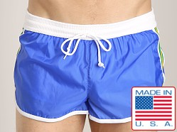 LASC Nylon/Cotton Soccer Short Royal