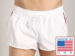 LASC Nylon/Cotton Soccer Short White