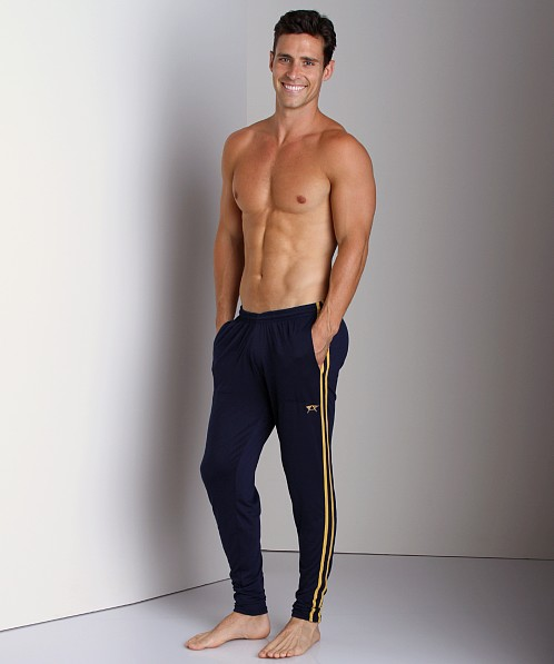 LASC Gymnast Pant Navy/Yellow