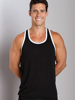 LASC Gymnast Tank Top Black/White
