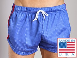 LASC Double Mesh Running Short Royal
