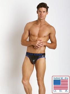 Go Softwear Hard Core Low Rise Throb Brief Black/Blue