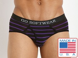 Go Softwear Fusion Brief Black/Purple