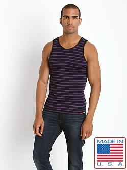Go Softwear Fusion Tank Top Black/Purple