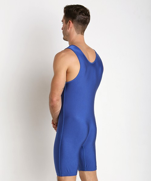Adidas Solid Wrestling Singlet Royal